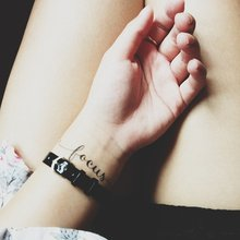 Переводная татуировка Всегда в фокусе