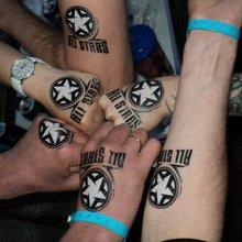 МнеТату на фестивале All Stars 2015. Производство переводных тату