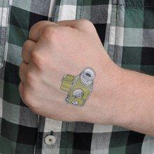 Переводная татуировка Модная камера