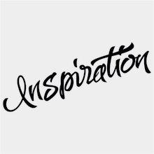 """Модная переводная тату """"Inspiration"""""""