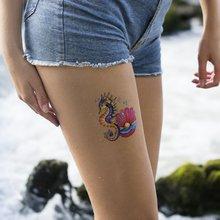 Татуировка Морской конек