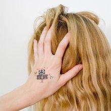 Переводная татуировка Сумашедший робот
