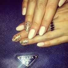"""наклейки (переводные тату) на ногти """"Луна"""""""